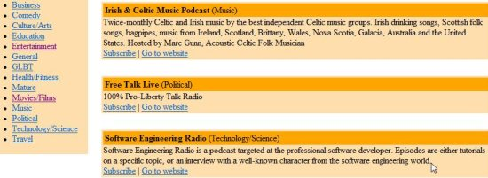 download podcasts 25