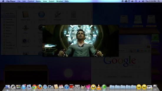 flip4mac background dim feature