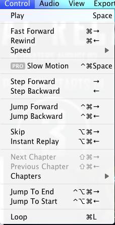 flip4mac controls