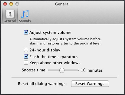 free alarm clock for mac