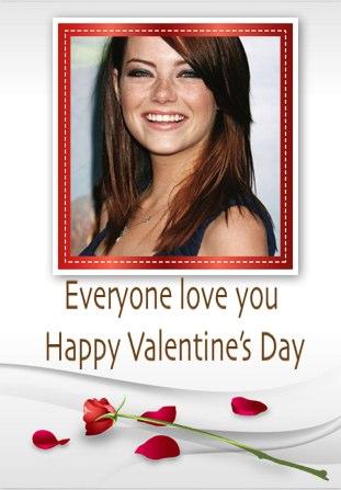 emma stone valentine's day
