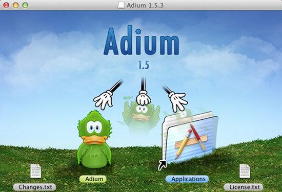 how to install adium