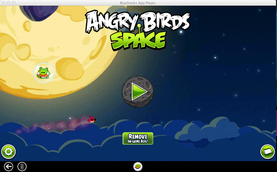how to run angry bird space for free on mac