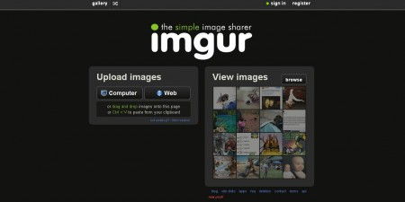 Free image sharing software