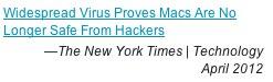 mac virus new york times article