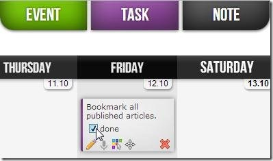 my time organizer task