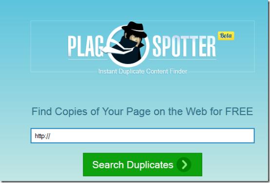 plagspotter online plagiarism checker