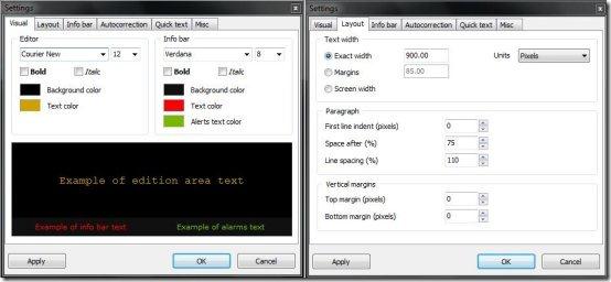 q10 settings