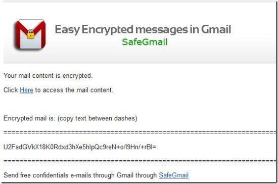 safegmail mail