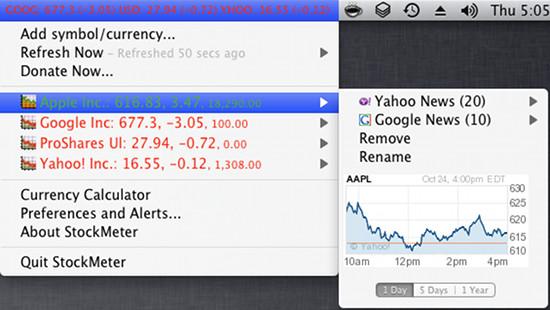 stockmeter for mac osx