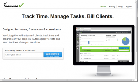 Traxmo online project management tool