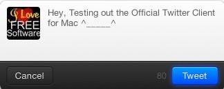 tweet mac