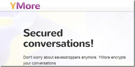 ymore chat encryption software