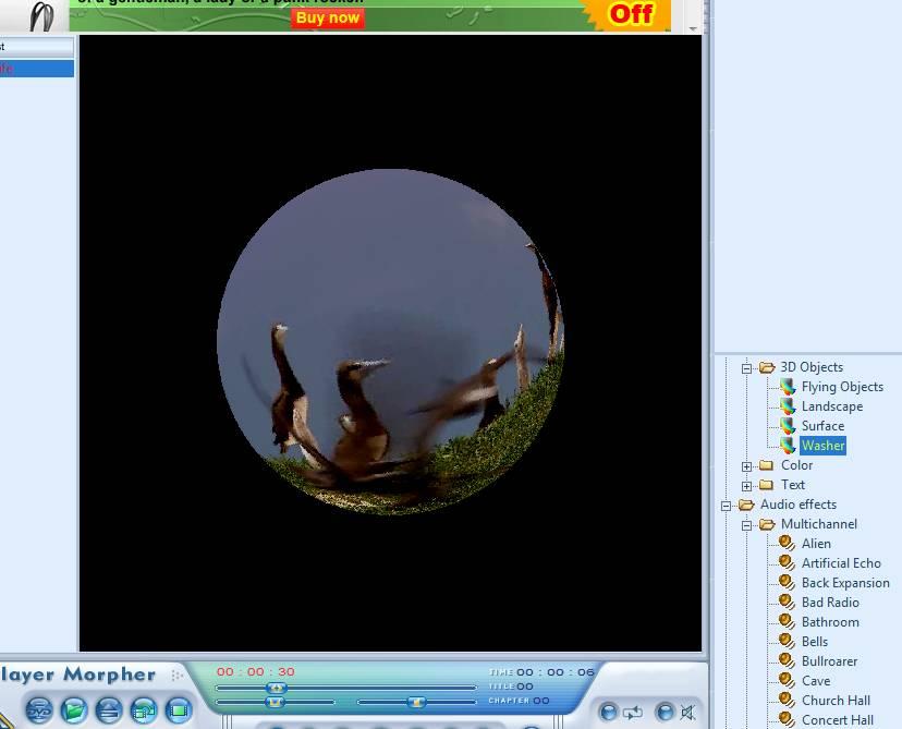 AV DVD Player Morpher video morph