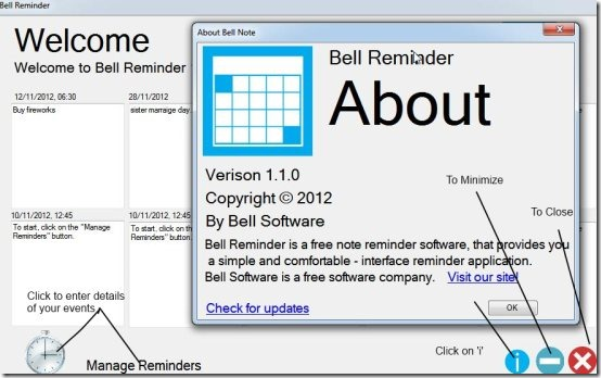 About Bell Reminder