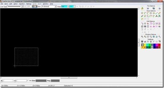 CadStd interface