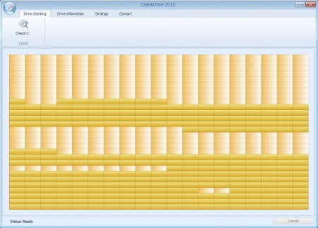 Check Drive free hard disk monitoring software