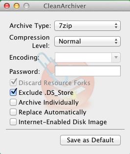 CleanArchiver mac