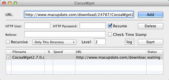 cocoawget free download manager for mac