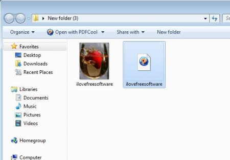 GIF To PDF Converter conversion complete
