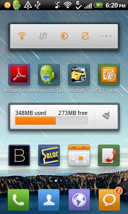 MiHome Launcher widgets screenshot