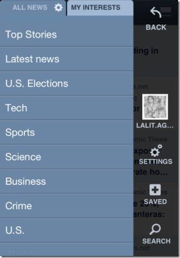 News360 Categories