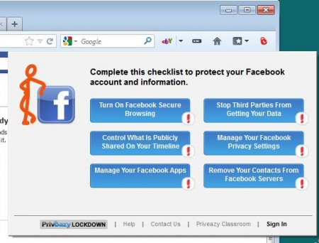 Priveazy Lockdown free online security add-on