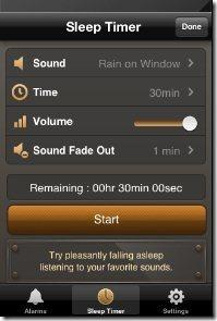 Radio Alarm Clock Sleep Timer