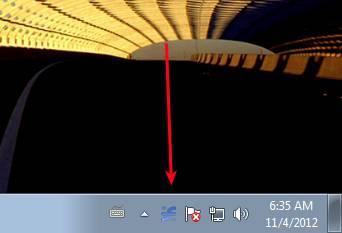 Screen Recorder tray icon desktop recording