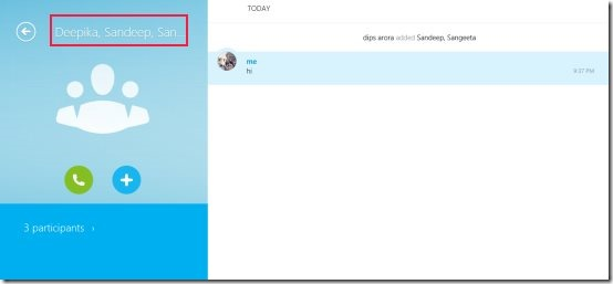 Skype ap