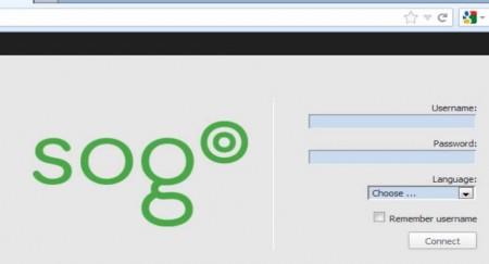 Sogo login window