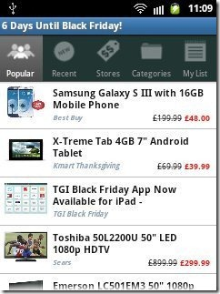 TGI Black Friday Android