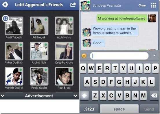 Tap to Chat Facebook Version