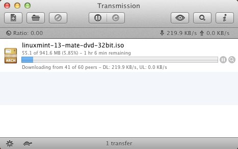 transmission for mac screenshot