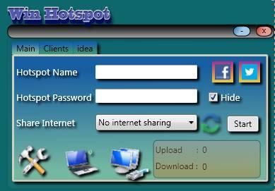 Winhotspot free Wifi hotspot creator