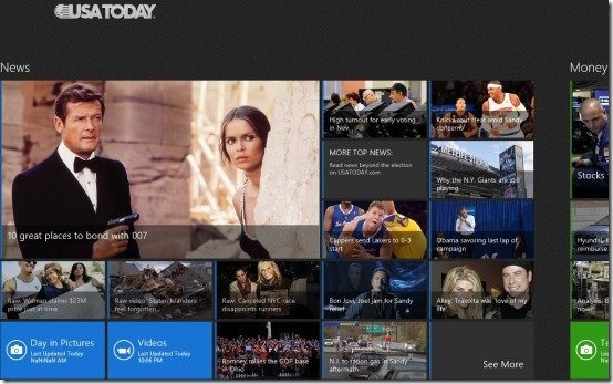 Windows 8 News App