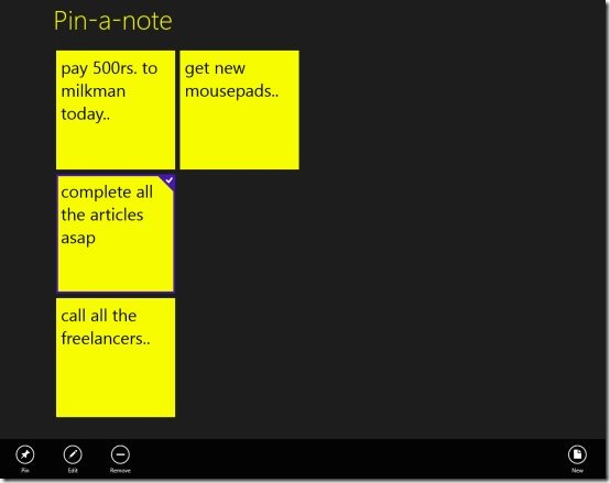 Windows 8 note taking app