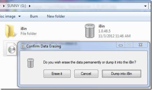 Windows recycle bin ibin