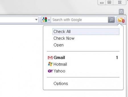 X-notifier opera window