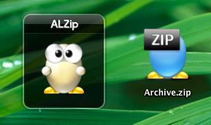 alzip archiever screenshot