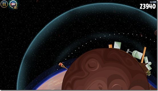 angry birds star wars space