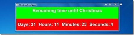 christmas countdown clock new