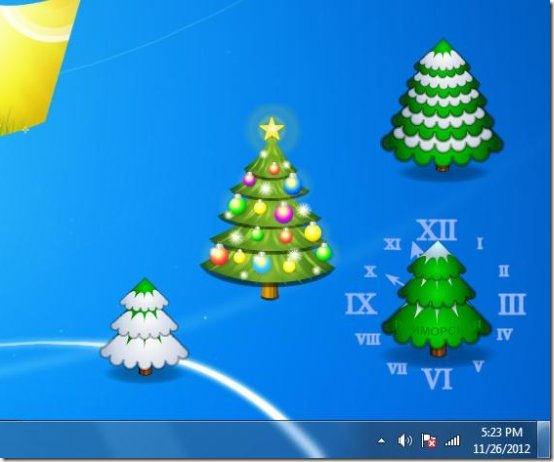 christmas tree s3dk software interface