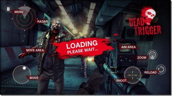 dead trigger controls