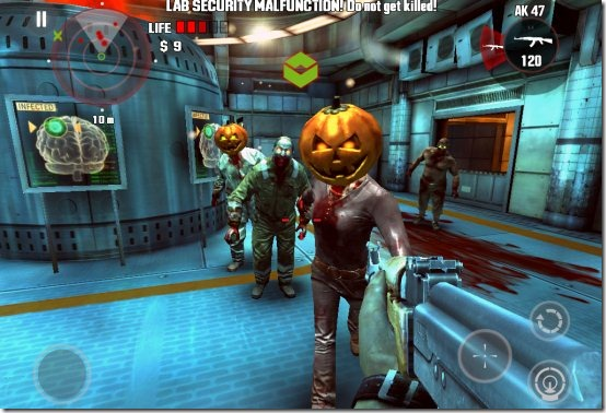 dead trigger zombies