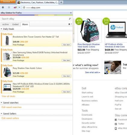 eBay Anywhere- eBay add-on