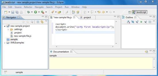 IDE for Javascript