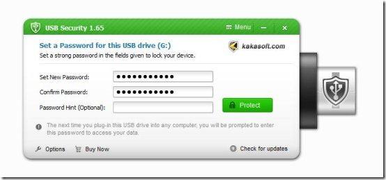 kakasoft usb security interface