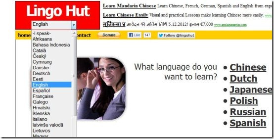 learn foreign languages list