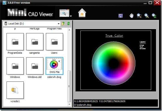 minicad viewer free AutoCAD viewer
